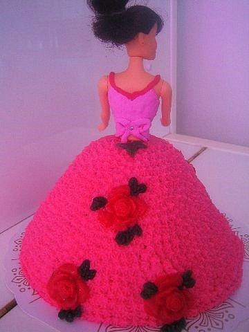 Barbie-kakku (mansikka)