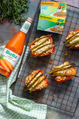 Täytetyt parsa-paprikat